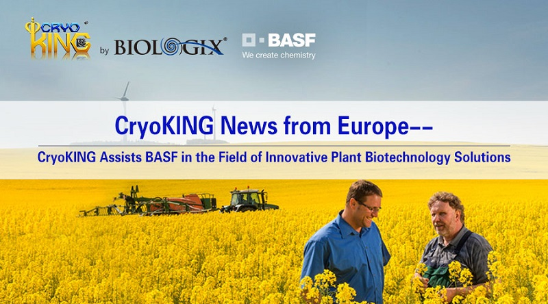 CryoKING News from Europe--CryoKING Assists BASF in the Field of Innovative Plant Biotechnology Solutions