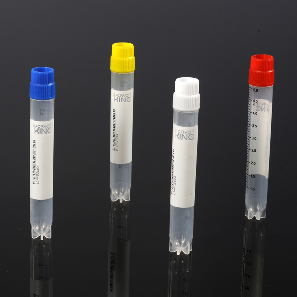 5.0ml External Thread Cryovials with Multi Codes